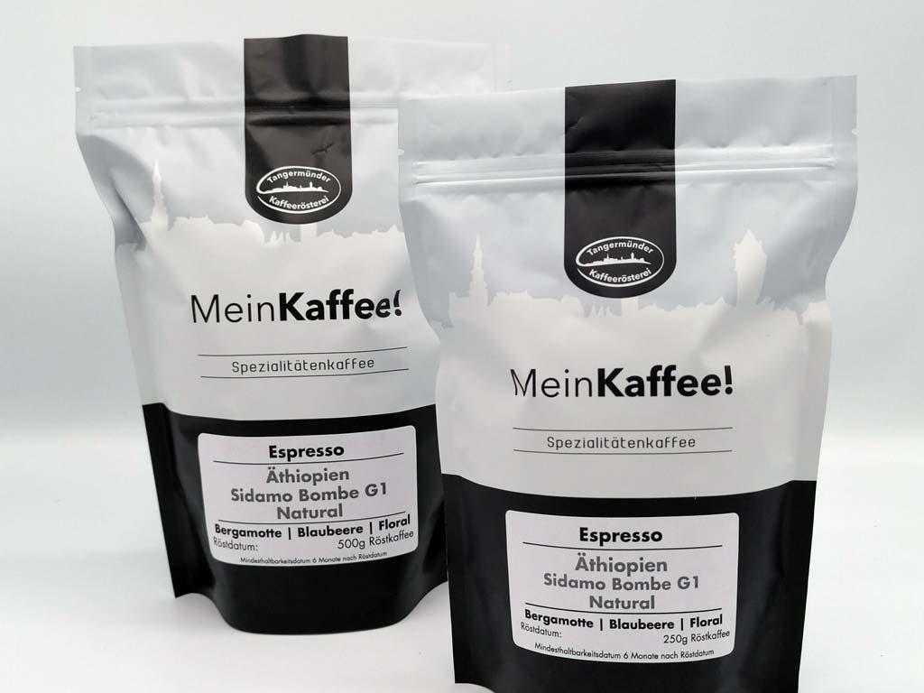 Kaffee Äthopien Sidamo Bombe G1
