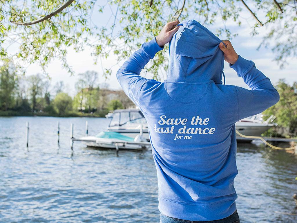 Zip Hoodie Last Dance Rücken